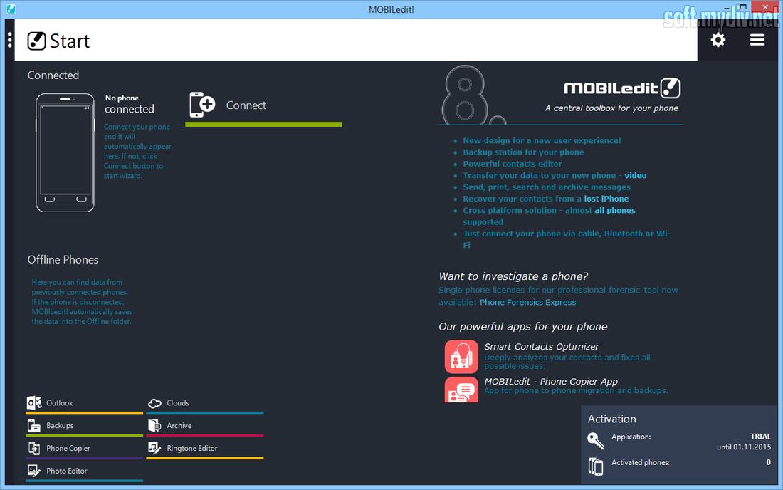 Программу mobiledit на русском языке
