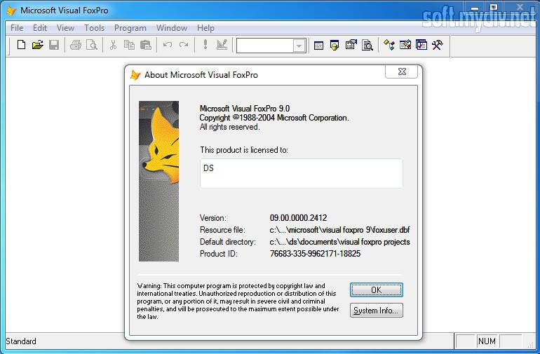 Скачать программу visual foxpro 8