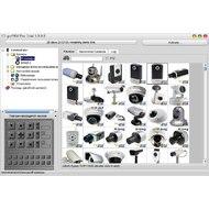 Главное окно программы со списком поддерживаемых камер