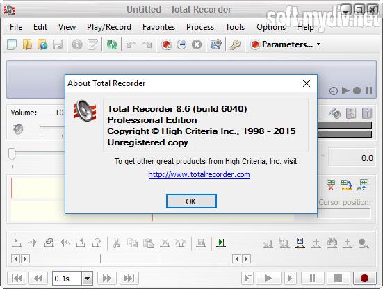 скачать бесплатно программу untitled total recorder