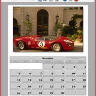 Главное меню (календарь)